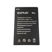 1800mAh Li-ion Rechargeable Phone Battery For  Explay Rio Batterie Bateria Batterij + Tracking Cord