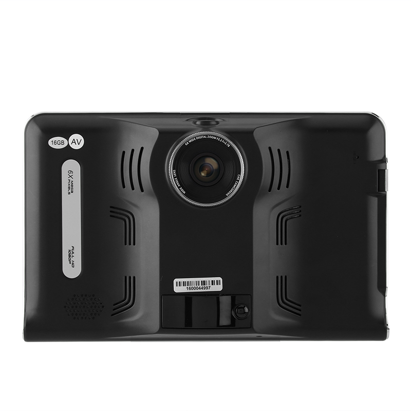 Car DVR Dash Cam - Anti-Radar Detector, GPS Navigation, Android OS, Quad-Core CPU, 7 Inch Display, WiFi, 1_2.5 Inch CMOS20170621_0141