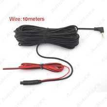 10meters 2.5mm TRRS Jack Connector To 4Pin Video Extension Cable For Truck/Van Car DVR Camera Backup Camera #J-1280