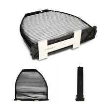 Car Auto Cabin Air Filter For Mercedes Benz AMG GT S C250 C300 Includes Activated Carbon (CUK29005)