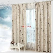Fyjafon Thick Blackout Curtains Drapes For living Room/ Bedroom Curtains Europe Style 85% Blackout Curtains Window Drapes(China)