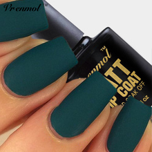 Vrenmol 1pcs Matt Varnish Matte Top Coat Matt Top Coat  LED UV Nails Gel Matt Top Gel Clear Soak off Gel Lacquer