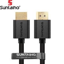 Suntaiho 9FT 1M,2M,3M,5M,10M High speed Gold Plated Plug Male-Male HDMI Cable 1.4 Version w Nylon net 1080p 3D for HDTV XBOX PS3(China)