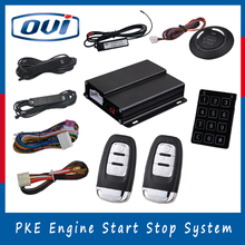 Best quality remote auto start universal security alarm system car immobilizer