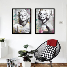 FULL HOUSE Marilyn Monroe Photo HD A4 Art Prints Canvas Movie Poster Wall Pictures Living Room Home Decor Paintings No Frame