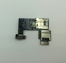 For Motorola Moto G2 XT1068 XT1069 Memory card holder Flex Cable Dual / Single Sim card holder slot