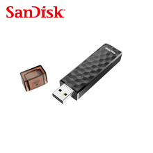 Free shipping Original SanDisk Connect Wireless Stick USB Flash Drive SDWS4 WiFi + USB 2.0  32GB 64GB For Smartphones&Tablets&PC