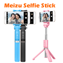 original Meizu stan selfie stick tripod leg can be turn round Bluetooth Shutter for iPhone iOS 5.0+ Android 4.3+