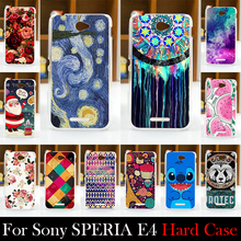 For SONY Ericsson Xperia E4 Case 5.0 inch Hard Plastic Cellphone Mask Case Protective Cover Housing Skin Mask
