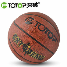 PTOTOP PU Leather Material Official Size 7 Basketball Ball Non-slip Wear-resistant Indoor Outdoor Training Practice Ball New(China)