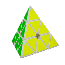 LeadingStar Magnetic Magic Cube Pyramid Pyraminx 3x3x3 Speed Cube Puzzle cubo magico Learning Education Toys For Children Gifts