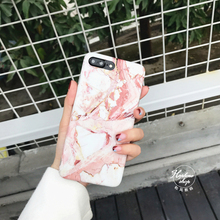 Hepu Net red with the same for Apple 6 phone shell simple black and white marble pattern iPhone7 6s plus all-inclusive soft sets