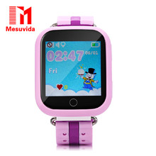 Mesuvida GPS smart watch Q750 children watch with Wifi 1.54 inch touch screen SOS Call Location Device kids Tracker Safe(China)