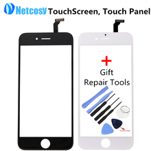 Touch Screen Digitizer Front Touch Panel Display Glass Lens TouchScreen for iPhone 6 6G with Gift Tools Mobile Phone Accessories