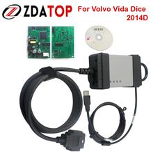 ZOLIZDA Newest Version for Volvo Vida Dice 2014D for Volvo Diagnostic Tool for Volvo Vida Dice high quality Free Shipping
