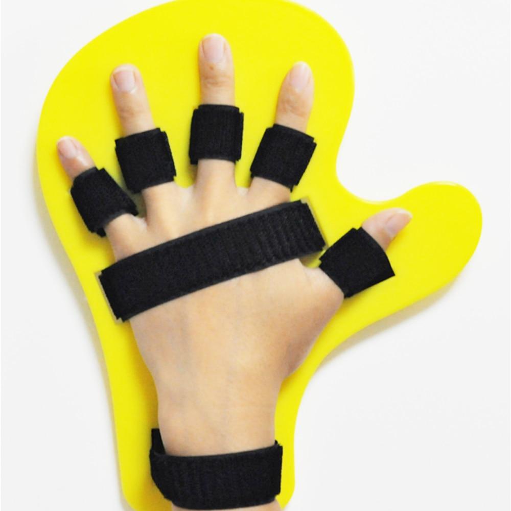 New Bending Finger Separating Plate Fixed Appliance Cerebral Stroke Hemiplegia Rehabilitation Massage Training Equipment