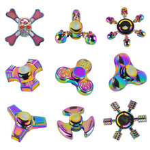 Buy Rainbow Six Arms Ghost UFO Stars Fingertip Gyro Fidget Spinner Metal Hand Tri-Spinner Gyro EDC Autism ADHD Stress Relief Toys for $4.29 in AliExpress store