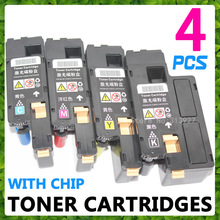Color Toner Cartridges For Xerox Phaser 6010 6000 Workcentre 6015 6015V, tn for 106R01627 106R01628106R01629 106R01630 with chip(China)