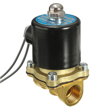 "Brand New 12V 1/2"" Electric Solenoid Water Air Valve Diesel Gas 4 Train Horn Solid Coil Made of Brass"