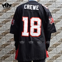 MM MASMIG The Longest Yard Paul Crewe 18 Mean Machine Football Jersey Black