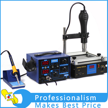 YIHUA 853A heater station preheat station and 862D+ soldering station rework preheating machine(China)