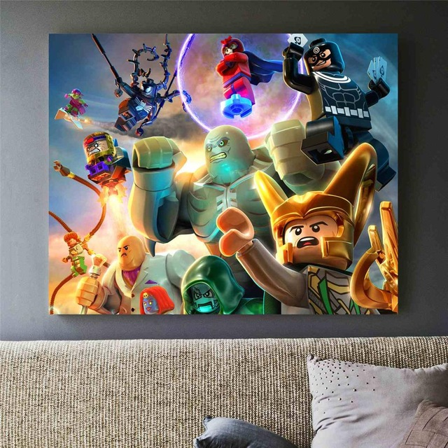 Marvel Superheroes Canvas Art Print Painting Poster Wall Pictures For Room Home Decoration Wall Decor No Frame (4)