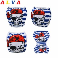 New Arrival! Alvababy Positioned 1PC Swim Diapers boys or girls Swimwear Children Adjustable Summer Swimming Nappy SWD48