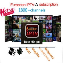 1 Year Best HD Europe IPTV subscription Arabic/Europe/Netherlands/ Italy/French/Poland/CA/YU 1800+IPTV live tv free test 24 hour(China)