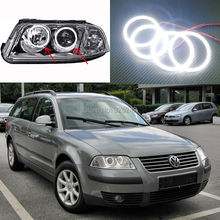 For Volkswagen VW Passat B5.5 3BG 2001 2002 2003 2004 2005 Excellent smd led Angel Eyes Ultrabright illumination Halo Ring kit