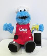 "Original New Sesame Street Cookie Monster Plush Doll 40cm 16"" Cute Stuffed Toys Kids Soft Toys Gifts For Children toys peluche"