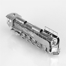 Starz Steam locomotive 3D DIY Puzzles Metal Mini Train Model Craft Stainless Steel Building Kits Toys Gifts