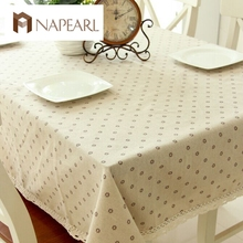 Factory direct daisy flower coffee table linen table cloth drape universal super cheap hot models home decoration