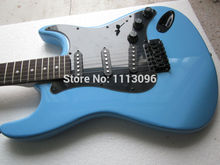 Electric guitar wholsale ERMIK ST BLUE COLOR BRAND electric guitar/guitar china(China)
