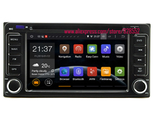 Android 6.0 Quad-core 2GB Car DVD Player For Old Series Toyota RAV4 corolla Land Cruiser Prado Camry Previa With Radio MP3/MP4(China)