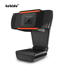 kebidu Microphone Web Cam USB Webcam HD 12.0MP PC Camera with Absorption MIC for Skype for Android TV Rotatable Computer Camera(China)