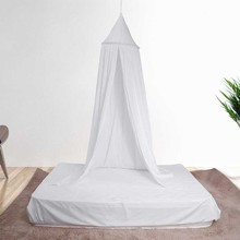 8 Colors Kids Boys Girls Princess Canopy Bed Valance Kids Room Decoration Baby Bed Round Mosquito Net Tent Curtains(China)