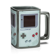 Creative Game Boy Square Magic Heat Sensitive Sublimation Mug Color Change Ceramic Water Tea Coffee Mug Christmas Gifts(China)