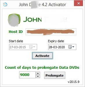 John Service Advisor 4.2 Activator with prolongation 2016<br><br>Aliexpress