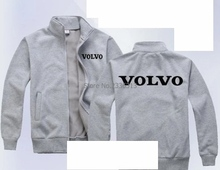 Winter customized VOLVO sweatshirt maintenance after-sales coat for man work clothes zipper jacket(China)