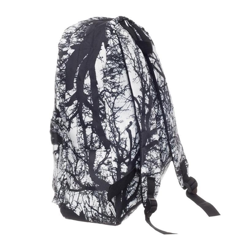 MOJOYCE Street Women Men 3D Digital Tree Printed Backpacks Teen ... c8cd59e64f8cc