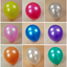 Thicken 12 inch 2.8 g 100 pcs / lot 100% Latex Round Pearls Silver Balloons wedding birthday party  supplies  kids toys