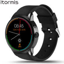 ITORMIS W500 Android 5.1 Fashion Smart Watch Smartwatch Wristwatch 8G ROM 3G SIM Sport Fitness GPS Heart Rate for Android(China)
