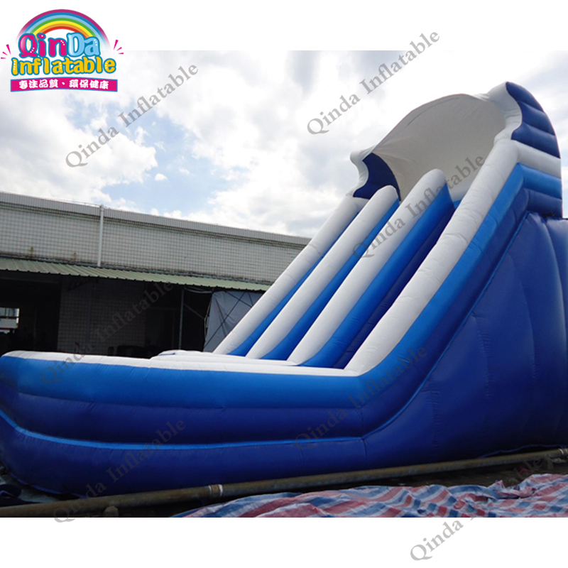 inflatable water slide with pool242