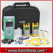 KomShine KQX-40 Fiber Optic Test Kits SM OTDR / Optical Power Meter & Optical Light Source/ VFL BY FEDEX