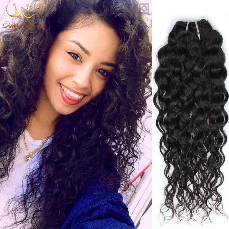 Peruvian Water Wave Virgin Hair Queen Berry Hair Peruvian Water Wave 3Bundles Natural Black Virgin Hair Wet And Wavy Human Hair<br><br>Aliexpress