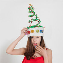 Star/ spring/ Christmas Hats Christmas Ornaments Adult Ordinary Santa Hats Children Cap Christmas Decorations Xmas Crafts