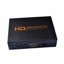 HD 1080P HDMI to DVI + Spdif Headphone Coaxial Audio Converter Adapter Box Video For PS3 Blue ray DVD High Quality