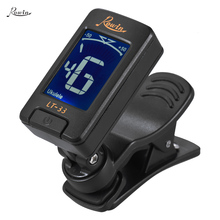 Automatic Guitar Tuner Digital Electronic Clip-On Tuner LCD Screen for Guitar Chromatic Bass Ukulele Violin(China)