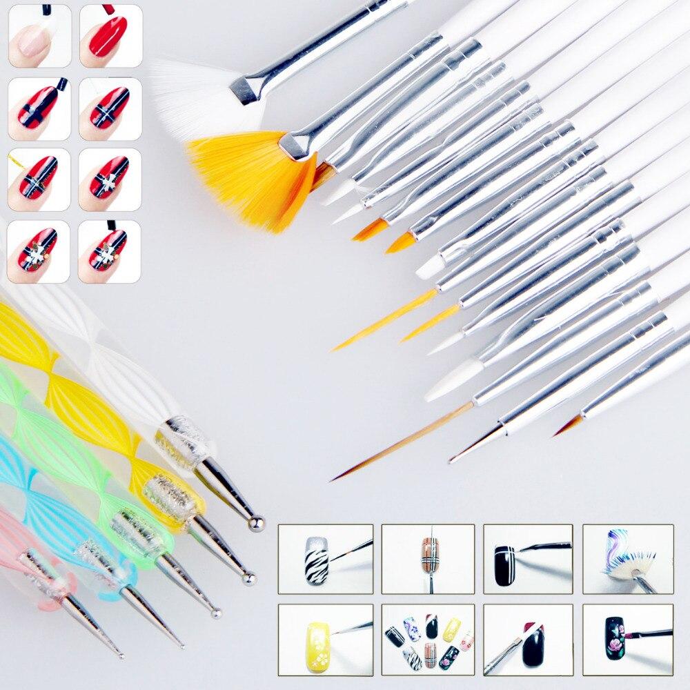 Какие инструменты нужны для рисования на ногтях