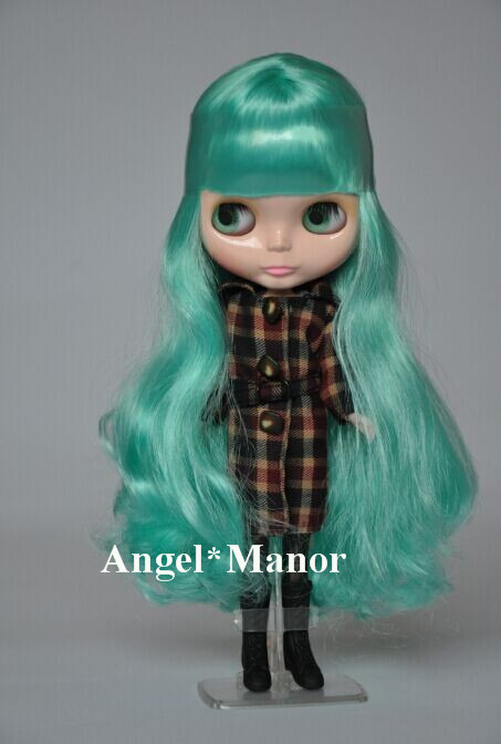 Nude Blyth Doll, green2 long hair, big eye doll,Fashion doll Suitable For DIY Change BJD , For Girls Gift,PGL002<br><br>Aliexpress